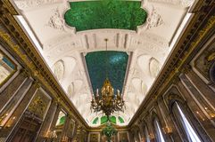 Interiors of Royal Palace, Brussels, Belgium Royalty Free Stock Images
