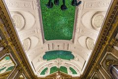 Interiors of Royal Palace, Brussels, Belgium Royalty Free Stock Image