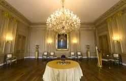 Interiors of Royal Palace, Brussels, Belgium. Interiors lusters, roofs and details of Royal Palace, Brussels, Belgium Royalty Free Stock Photography