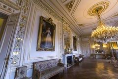 Interiors of Royal Palace, Brussels, Belgium. Interiors lusters, roofs and details of Royal Palace, Brussels, Belgium Stock Images