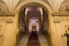 Interiors of Royal Palace, Brussels, Belgium Stock Image