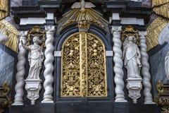 Interiors of Saint Nicholas' Church, Ghent, Belgium Stock Photo