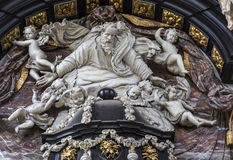 Interiors of Saint Nicholas' Church, Ghent, Belgium Royalty Free Stock Image