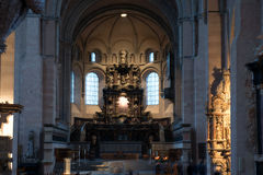 Interiors of Saint Peter Cathedral Royalty Free Stock Photos