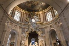 Interiors of Saint Roch church, Paris, France Royalty Free Stock Photography
