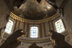 Interiors of Saint Roch church, Paris, France Stock Photography