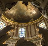 Interiors of Saint Roch church, Paris, France Royalty Free Stock Image