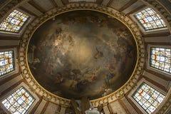 Interiors of Saint Roch church, Paris, France Stock Photo