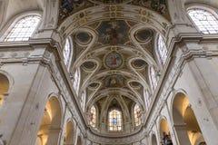 Interiors of Saint Roch church, Paris, France Stock Photos