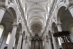 Interiors of Saint Walburga Church, Bruges, Belgique, Royalty Free Stock Photography