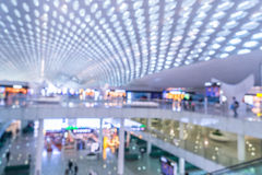 Interiors Of Shopping Mall. In Shenzhen,China Stock Image