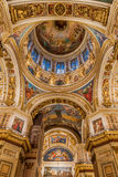 Interiors of St. Isaac Cathedral Stock Photo