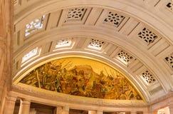 Interiors of Umaid Bhawan Palace, India Royalty Free Stock Photos