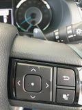 Interiortransportation da direcção wheel Imagens de Stock