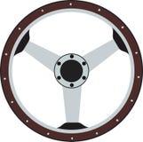 Interiortransportation de la direction wheel Image libre de droits