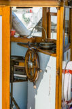 Interiortransportation de la direction wheel Photos libres de droits