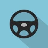 Interiortransportation del manejo wheel Fotos de archivo