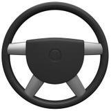 Interiortransportation del manejo wheel Fotografía de archivo
