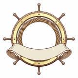 Interiortransportation van de leiding wheel royalty-vrije illustratie