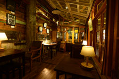 Interir d'une maison de thé Photo libre de droits