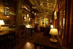 Interir de una casa de té foto de archivo libre de regalías