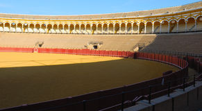 Interiror Seville bullring Stock Photography