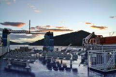 Interislander färja, Nya Zeeland fotografering för bildbyråer
