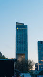 Interkontinentalhotel in Warschau Lizenzfreies Stockfoto