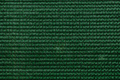 Interlace style pattern for abstract dark green background Stock Images