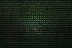 Interlace style pattern for abstract dark green background Stock Photography