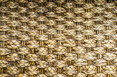 Interlace Thai Wooden Texture. Woven wooden texture crafted handmade by thai people Stock Photos