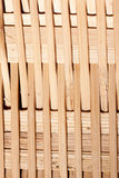 Interlaced bamboo weave Stock Photos