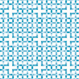 Interlaced blue pattern Royalty Free Stock Image