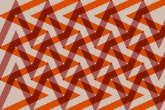 Interlaced design geometric pattern and zigzag Stock Image