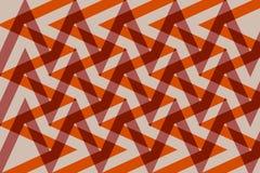 Interlaced design geometric pattern and zigzag Stock Image