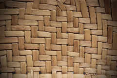 Interlaced straw texture. Macro of the interlaced straw Royalty Free Stock Photos