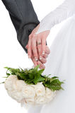 Interlacement Of Hands - To Love Interlacement Royalty Free Stock Photo
