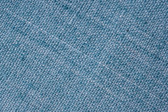Interlacing the fabric with a close-up Royalty Free Stock Photo