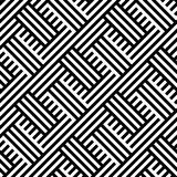 INTERLACING STRIPED LINES. GEOMETRIC SEAMLESS VECTOR PATTERN. vector illustration