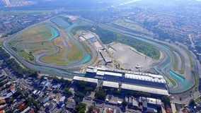 Interlagos Autodrome São Paulo Brazylia Zdjęcie Royalty Free