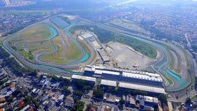 Interlagosautodrome São Paulo Brazil royalty-vrije stock foto