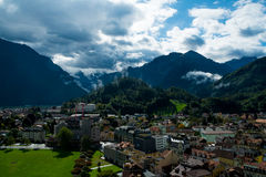 Interlaken fotografía de archivo libre de regalías