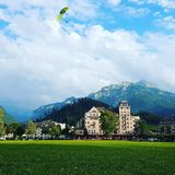 Interlaken images stock