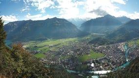 Interlaken-Ansicht stockfoto