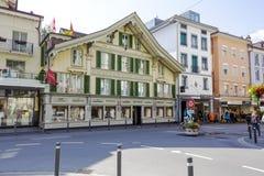 Interlaken, Historical house Royalty Free Stock Photography