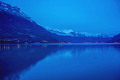 Interlaken i Schweiz Arkivfoto