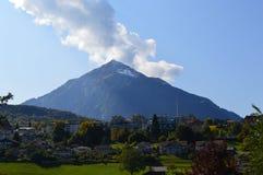 Interlaken-Landschaft Lizenzfreie Stockbilder