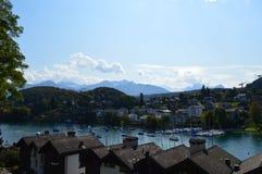 Interlaken-Landschaft Lizenzfreie Stockfotografie