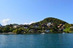 Interlaken-Landschaft Lizenzfreies Stockfoto