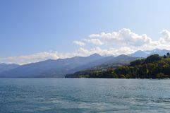 Interlaken-Landschaft Stockfotos